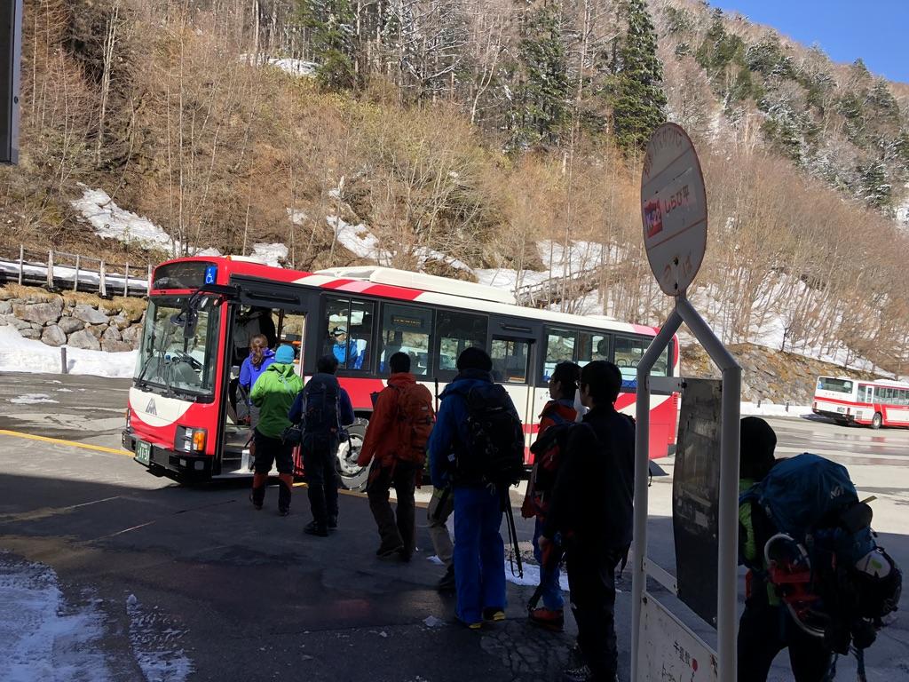 木曽駒ケ岳・しらび平駅から菅の台バスセンターまでのバス
