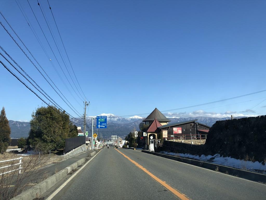 木曽駒ケ岳・駒ヶ根のお風呂に向かう