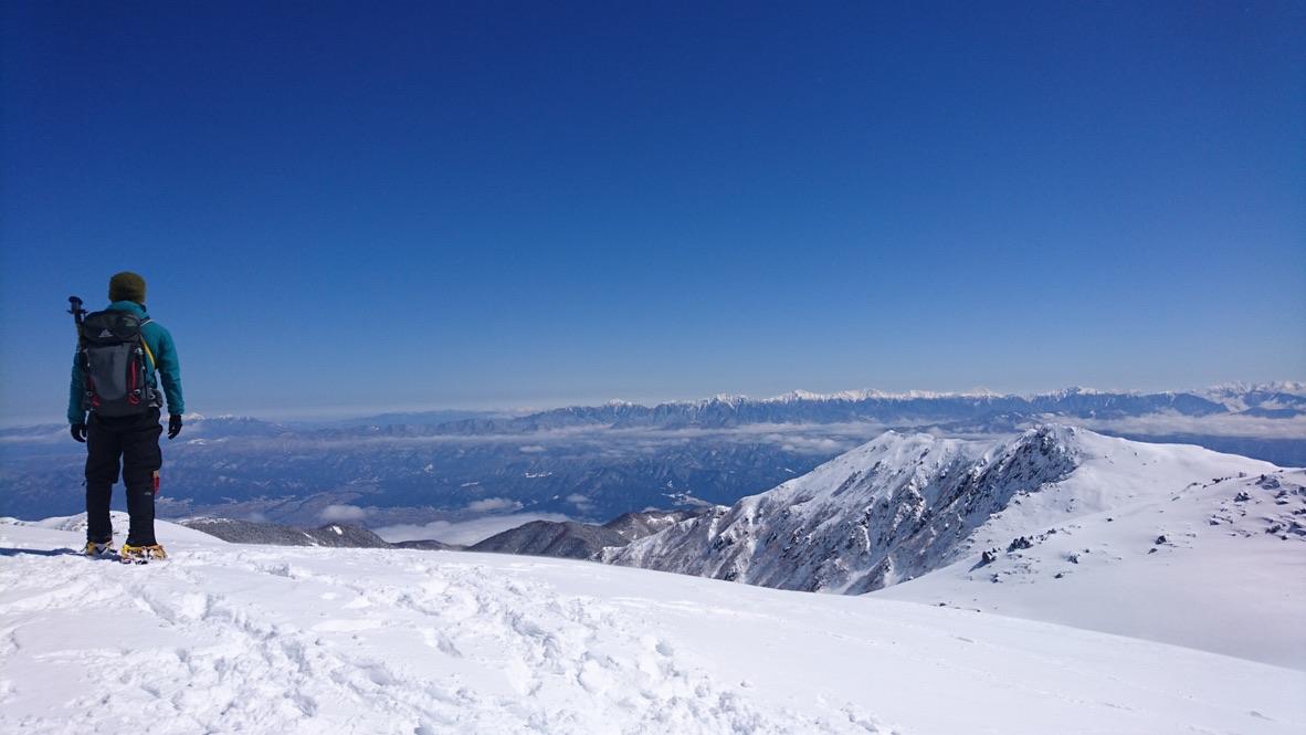 木曽駒ケ岳・木曽駒ヶ岳からの南アルプス