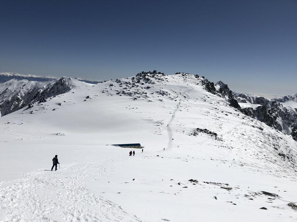 木曽駒ケ岳・山頂から駒ヶ岳頂上山荘へ2