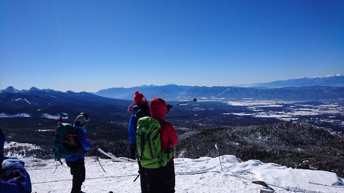 北横岳南峰・良い景色
