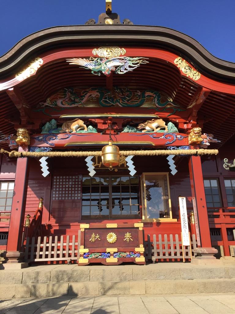 武蔵御嶽神社・正面