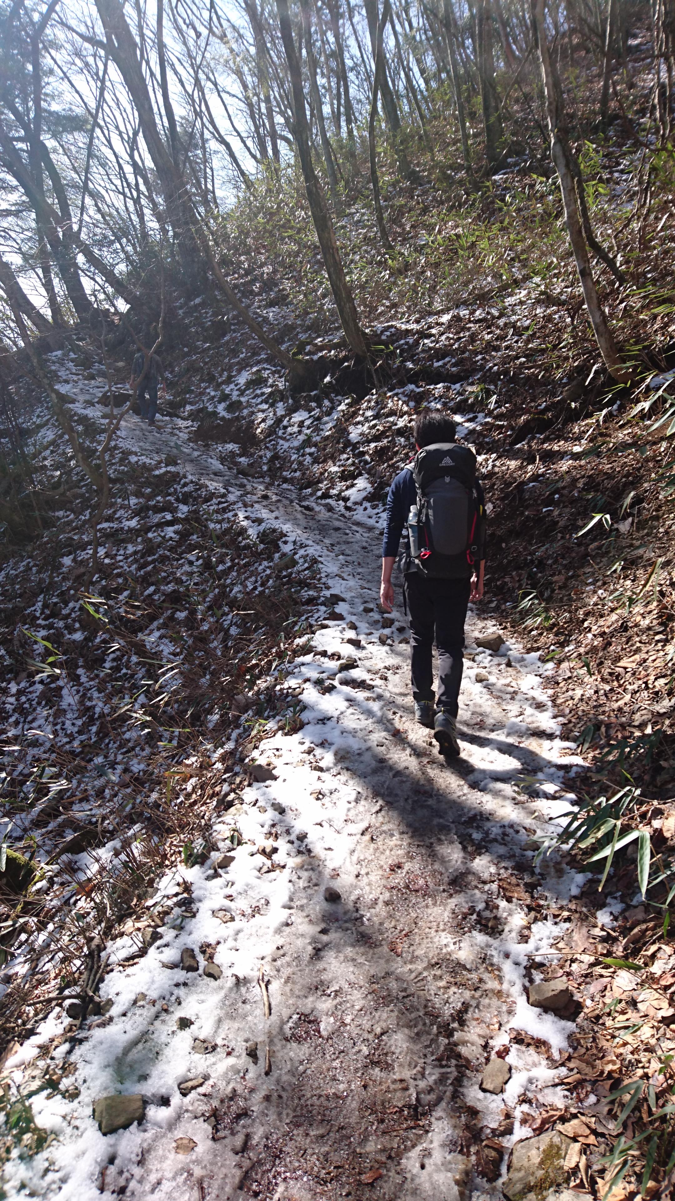 大岳神社、大岳山に至る道2