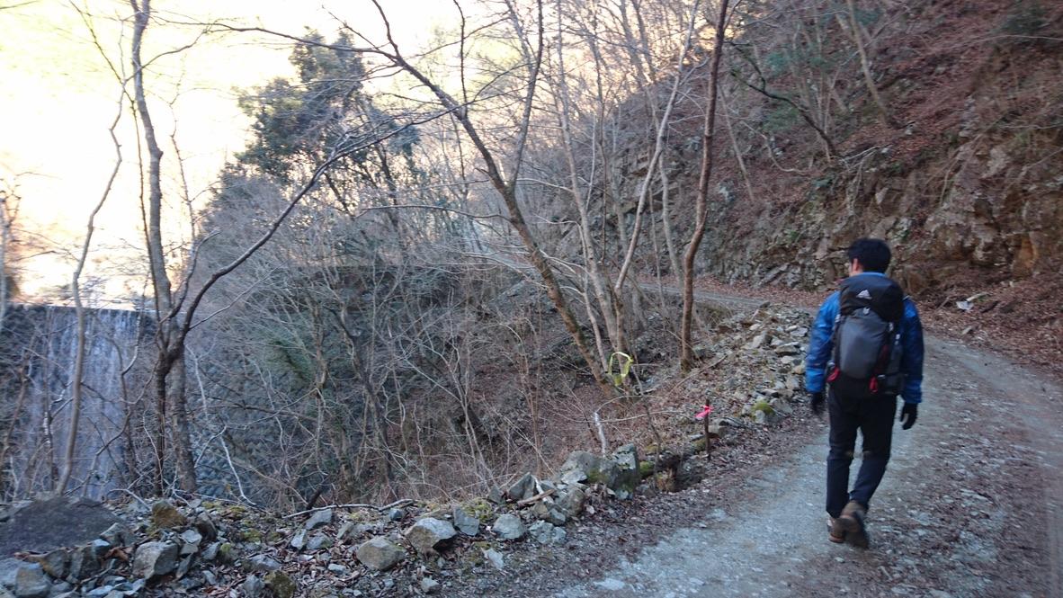 丹沢・鍋割山・まだまだ林道続きます
