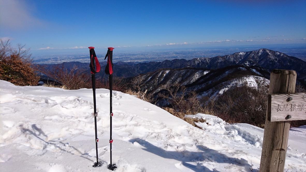 丹沢・大倉尾根に合流、塔ノ岳山頂到着です