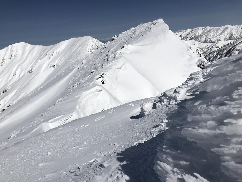谷川岳・トマノ耳からオキノ耳