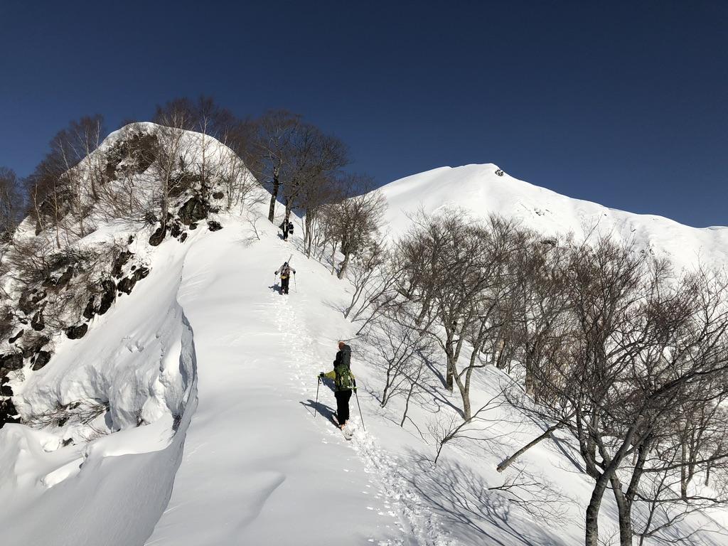 谷川岳・熊穴沢の頭