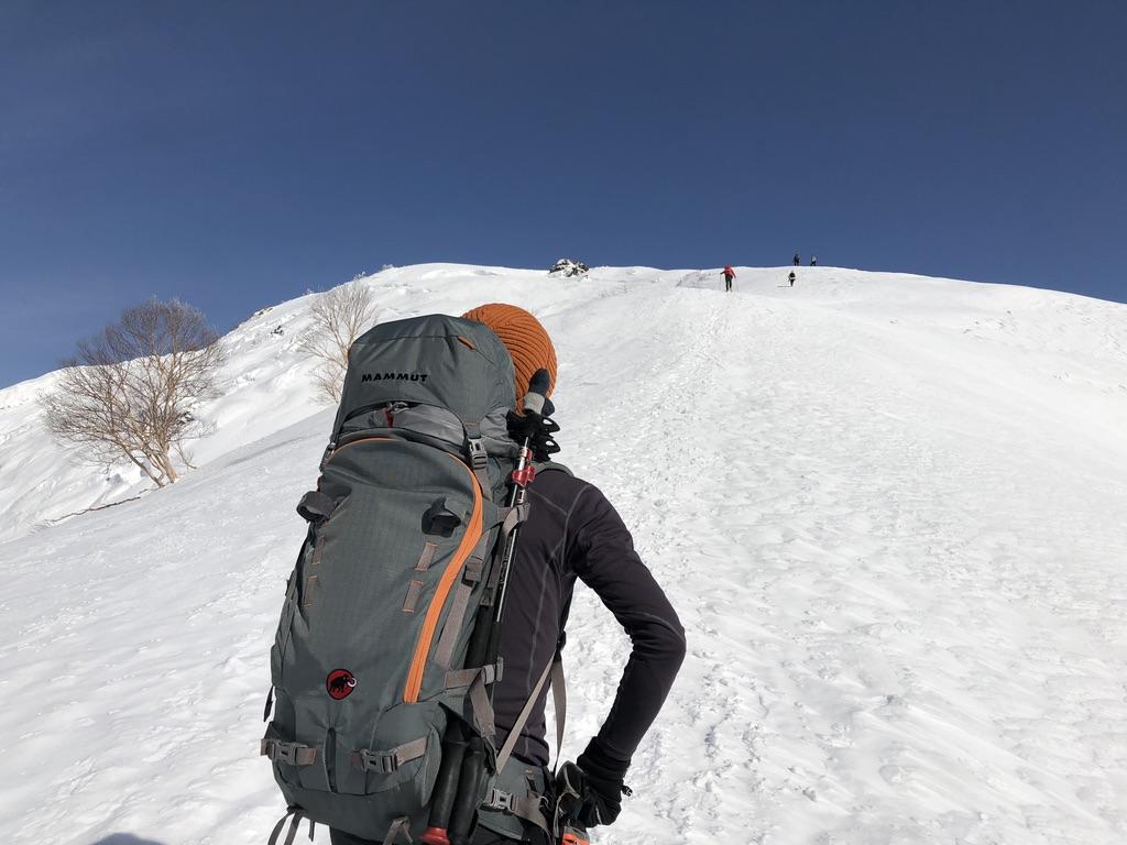 谷川岳・天神尾根・登り再開です