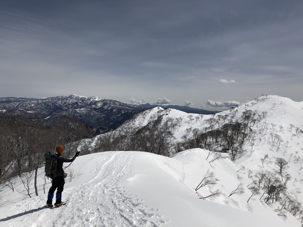 谷川岳・天神尾根・快調に下ります
