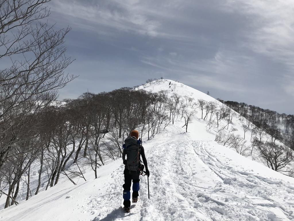 谷川岳・天神尾根・下山再開いたしましょう