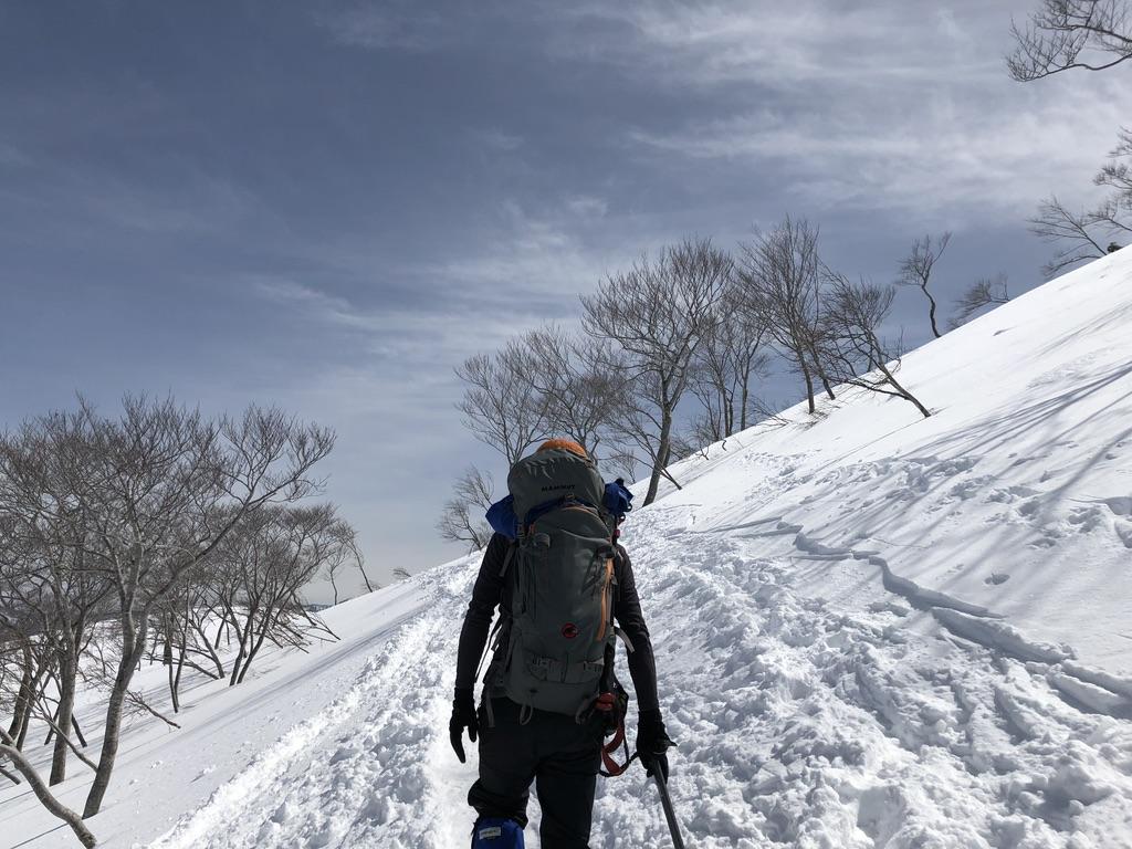 谷川岳・天神尾根・下りの登りは嫌なんです