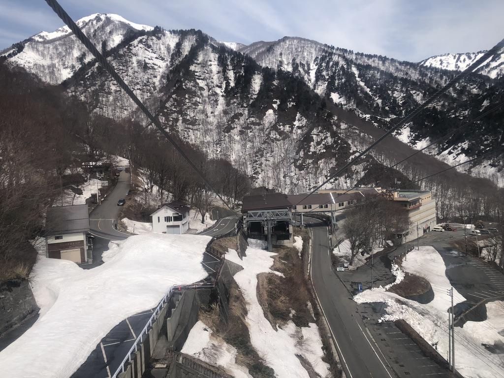 谷川岳・ロープウェイ土合口駅