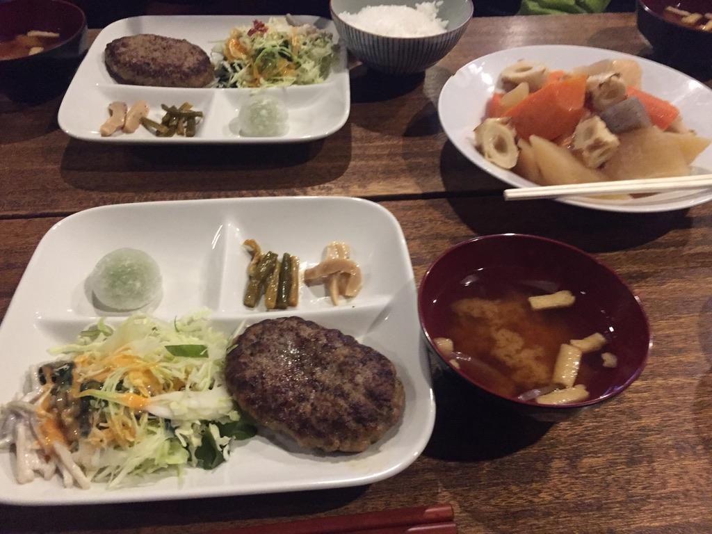天狗岳・黒百合ヒュッテの晩ご飯