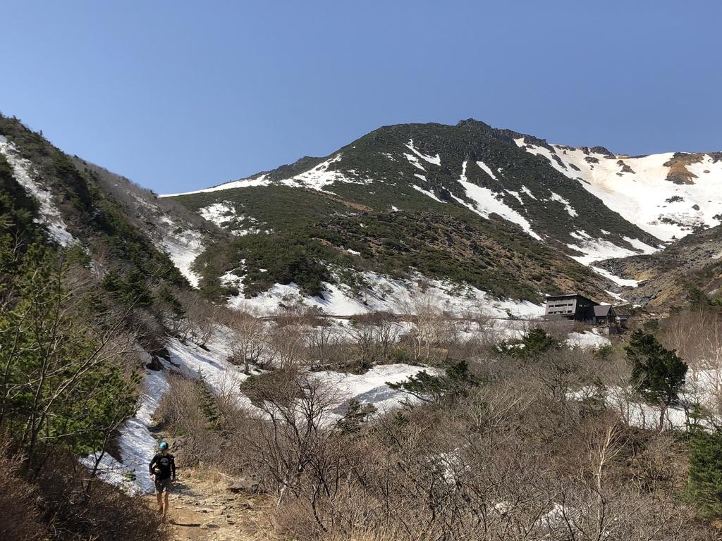 安達太良山・くろがね小屋と鉄山と箕輪山