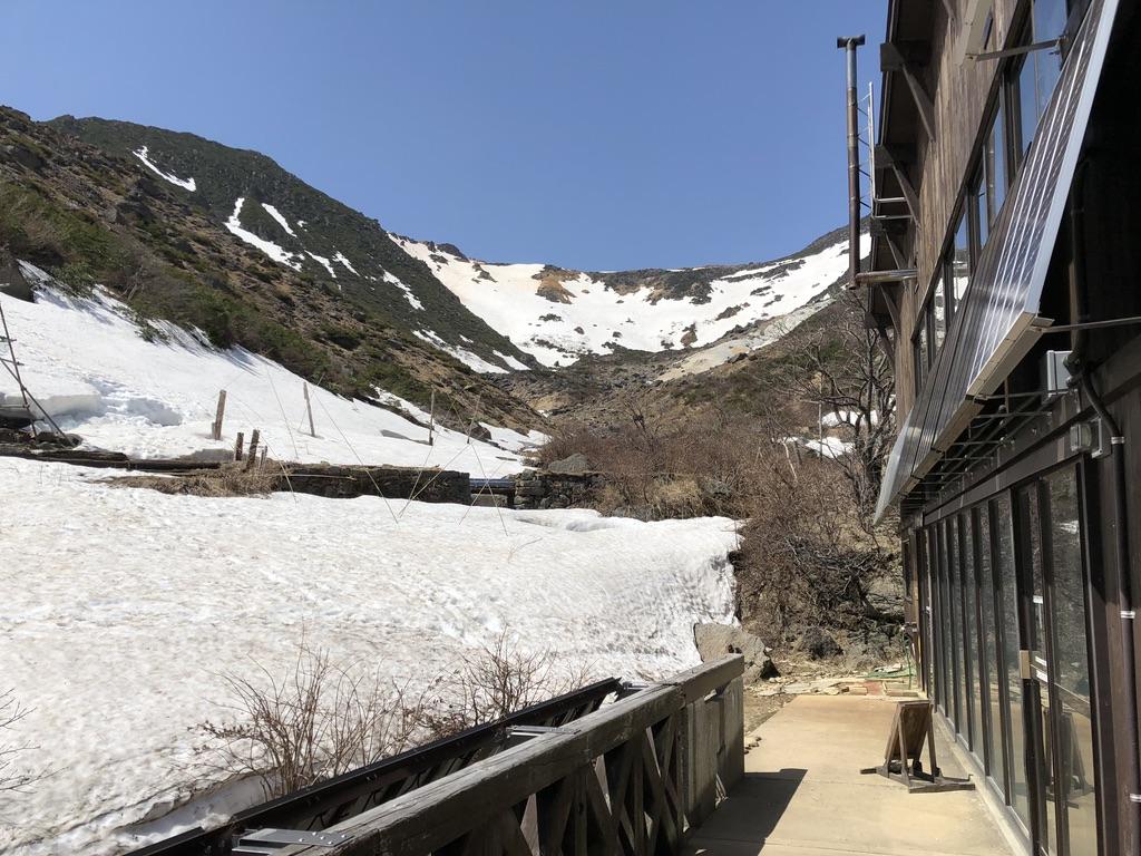 安達太良山・くろがね小屋から峰の辻へ