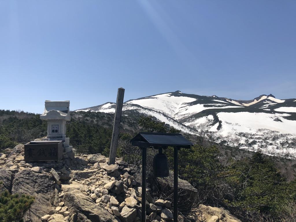 安達太良山・薬師岳山頂からの景色
