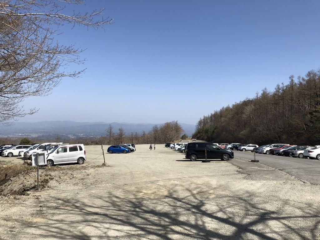 あだたら高原駐車場