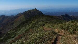 武尊山と剣ヶ峰山