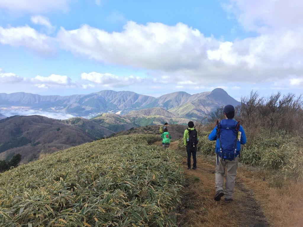 金時山・明神ヶ岳から金時山・向かいましょう