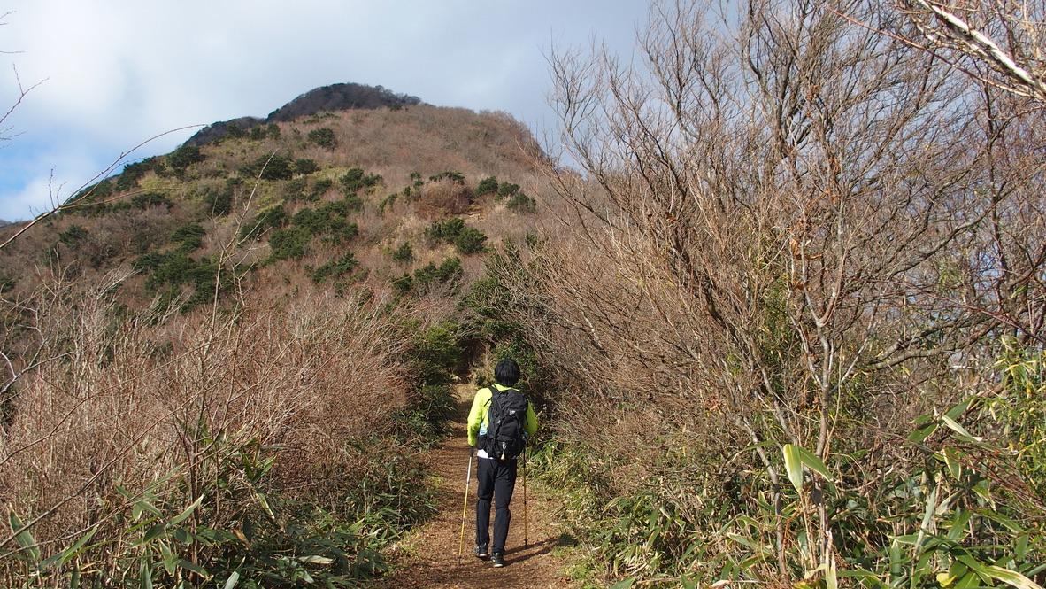 金時山・金時山最後の登り、行きましょう!