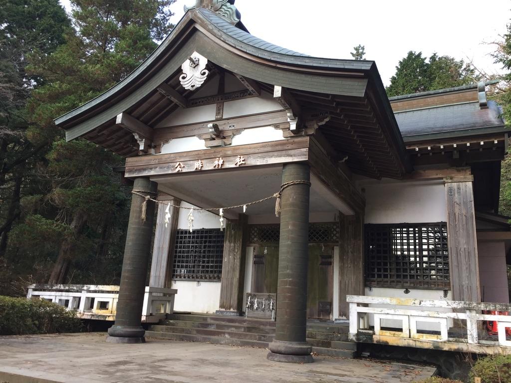 金時山・公時神社(金時神社)