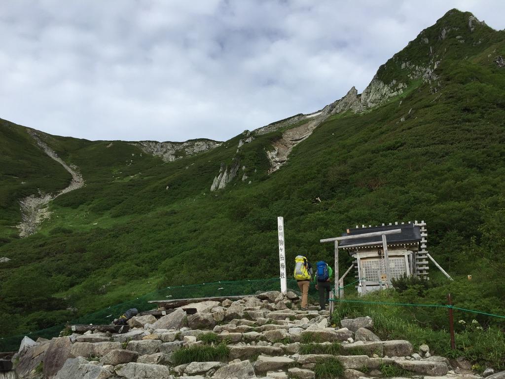木曽駒ケ岳・信州駒ヶ岳神社と宝剣岳