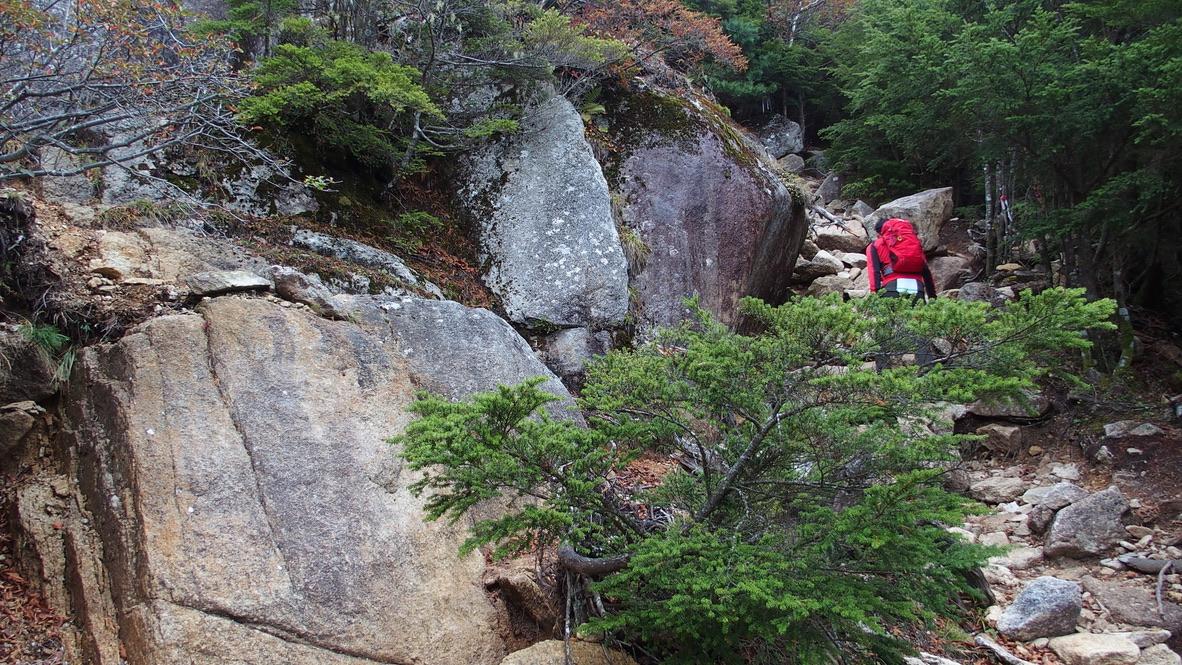 瑞牆山・どんどん登って行きましょう