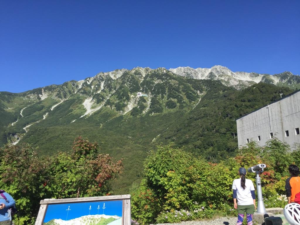 立山・黒部平からの立山