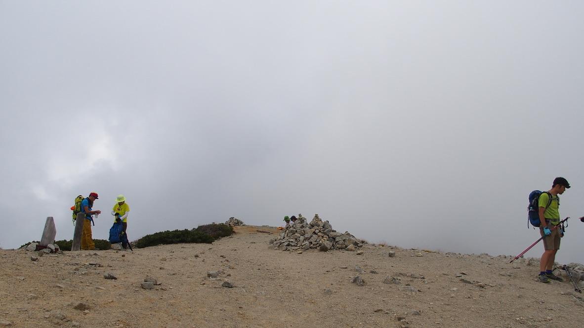 立山・別山から剱御前小舎