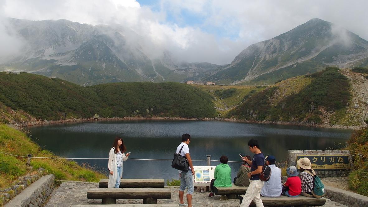 立山・ミクリガ池