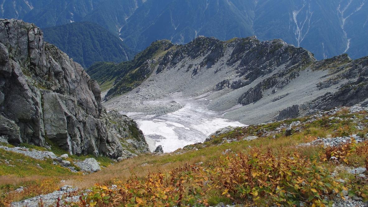 立山・御前沢氷河