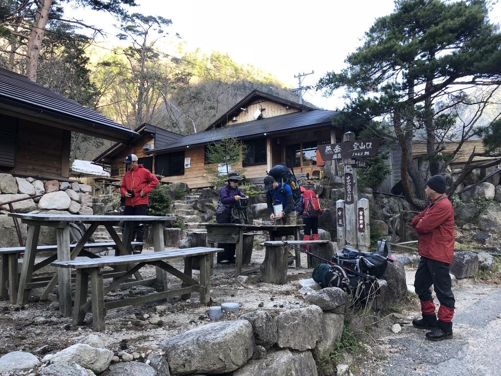 燕岳・中房温泉・中部山岳国立公園
