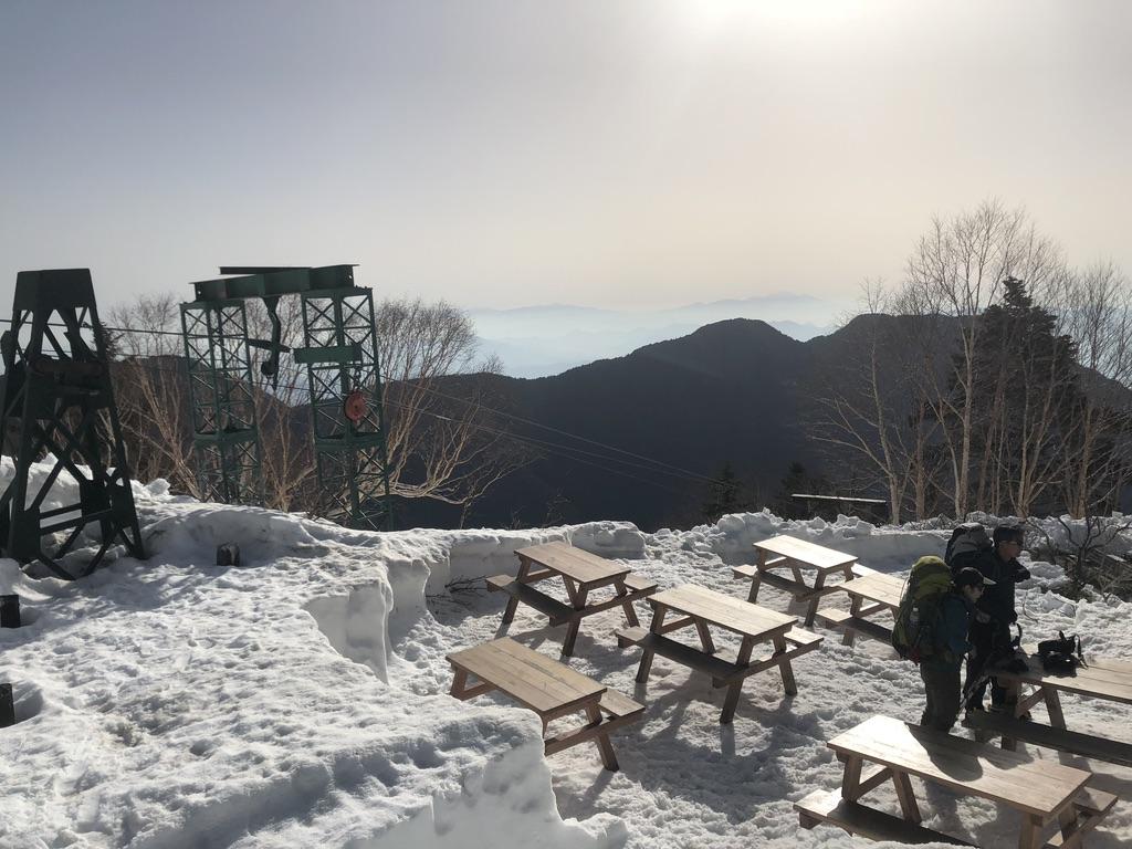 燕岳・合戦小屋・滑車