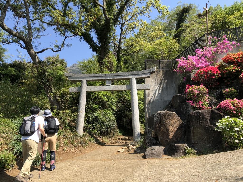 筑波山・白雲橋コース入口
