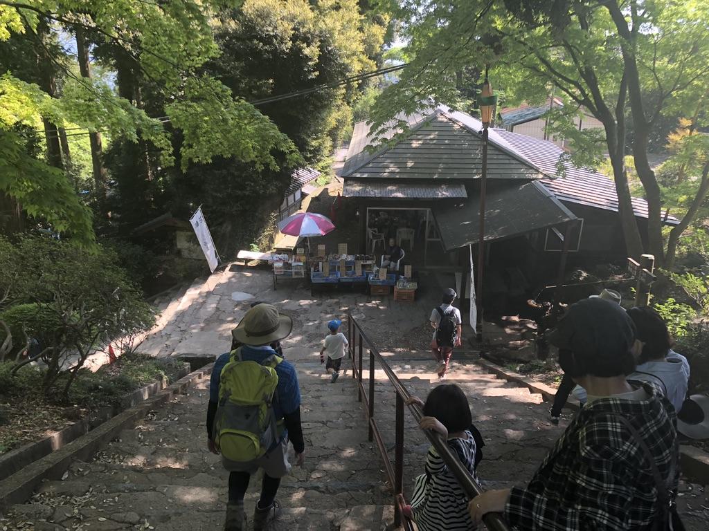 筑波山・筑波山神社に向かう道