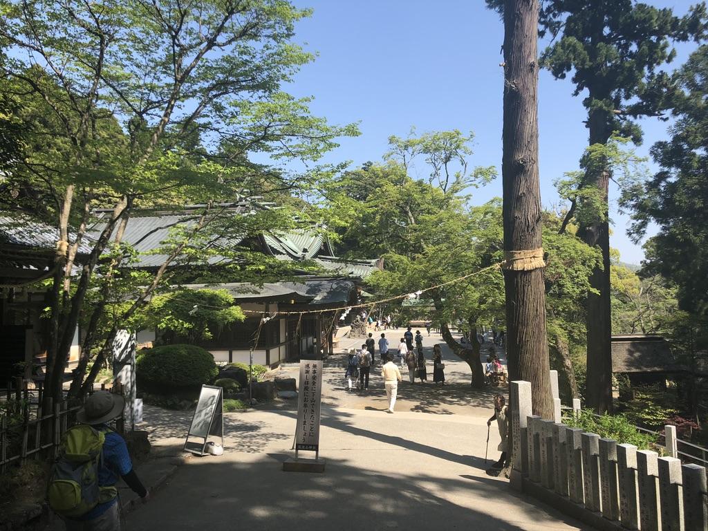 筑波山・筑波山神社・横から
