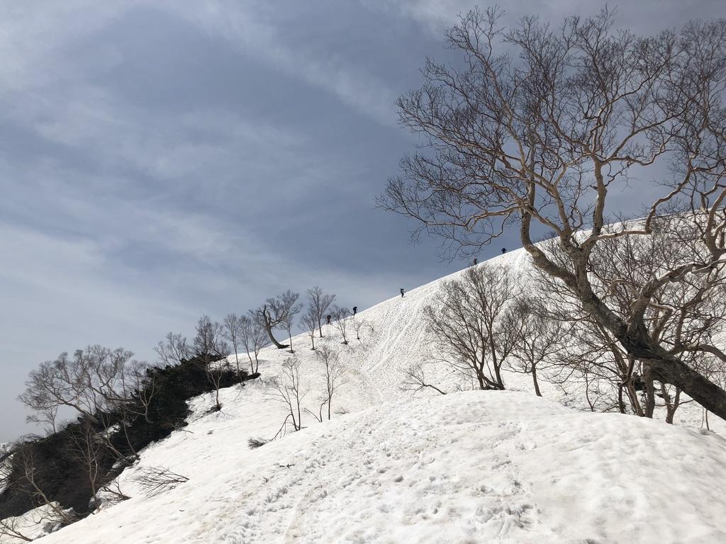 唐松岳・八方尾根・丸山へ
