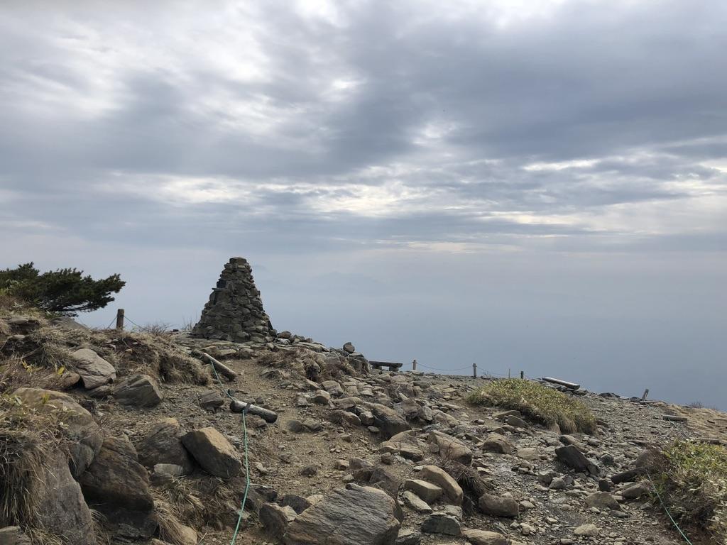 唐松岳・八方尾根・八方山ケルン