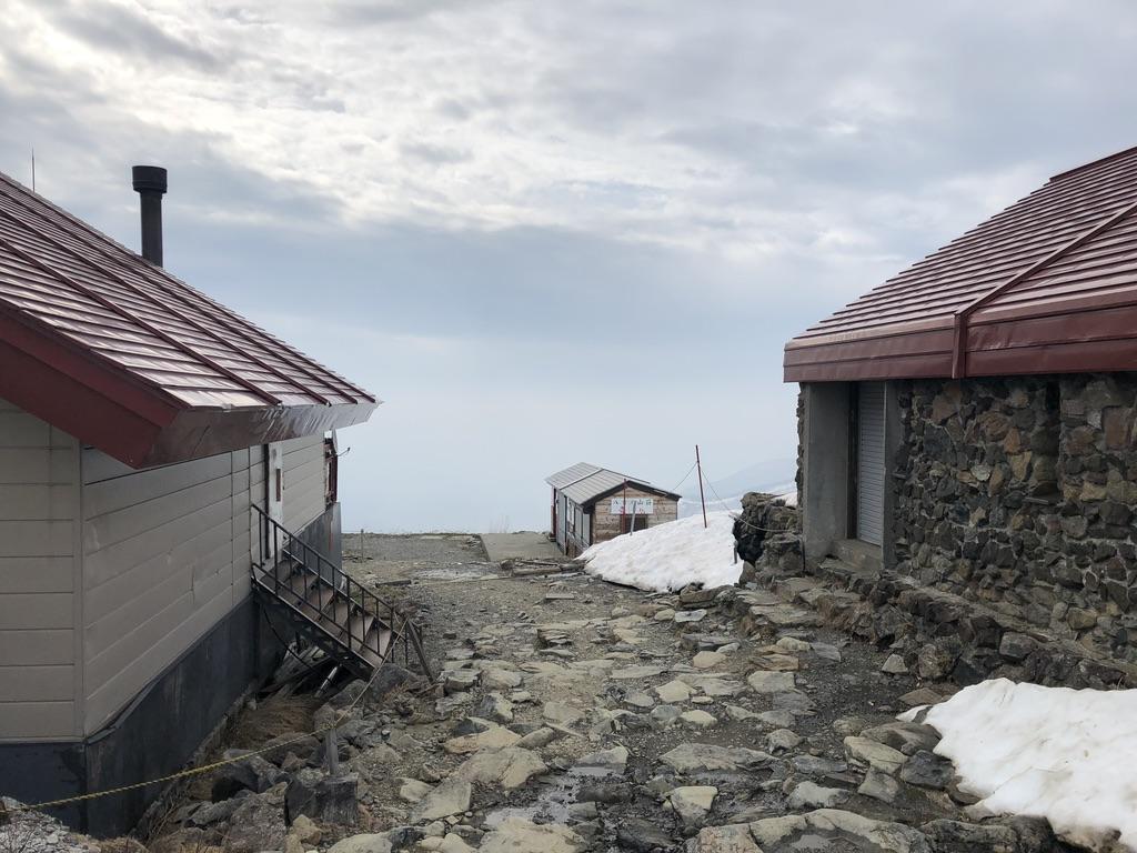 唐松岳・八方尾根・今回の登山スタート地点、八方池山荘近くに到着