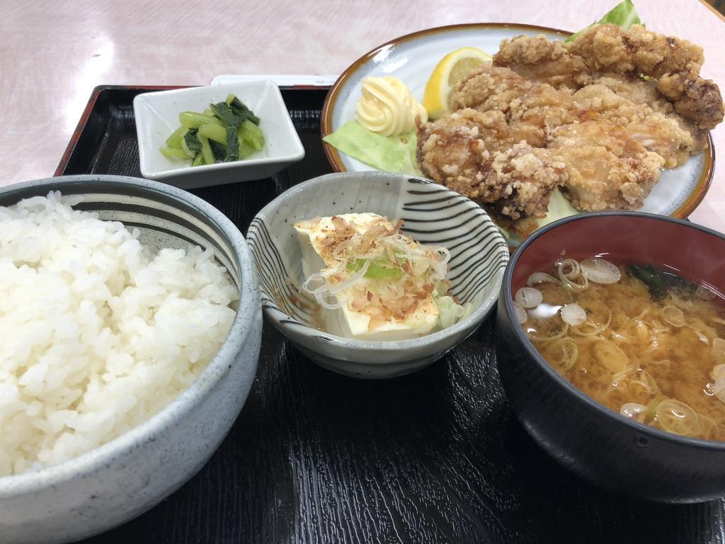 長野自動車道・みどり湖PA・白樺亭・山賊焼定食