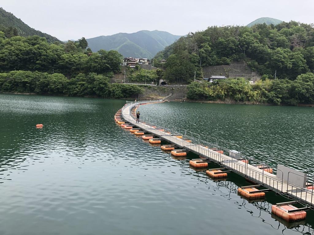 三頭山・麦山の浮き橋(ドラム缶橋)振り返る