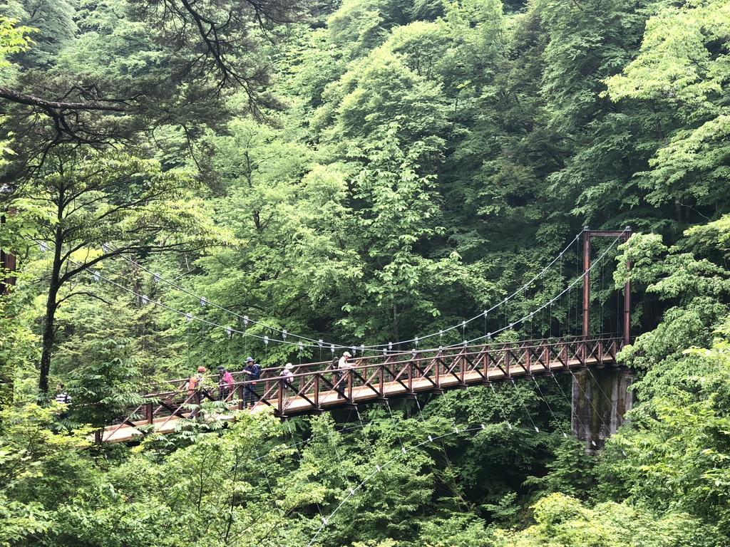 三頭山・滝見橋