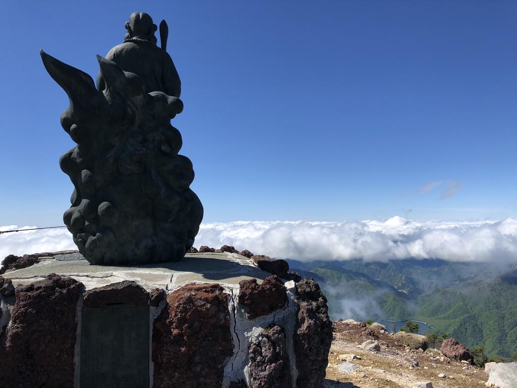 日光男体山・二荒山大神と中禅寺湖