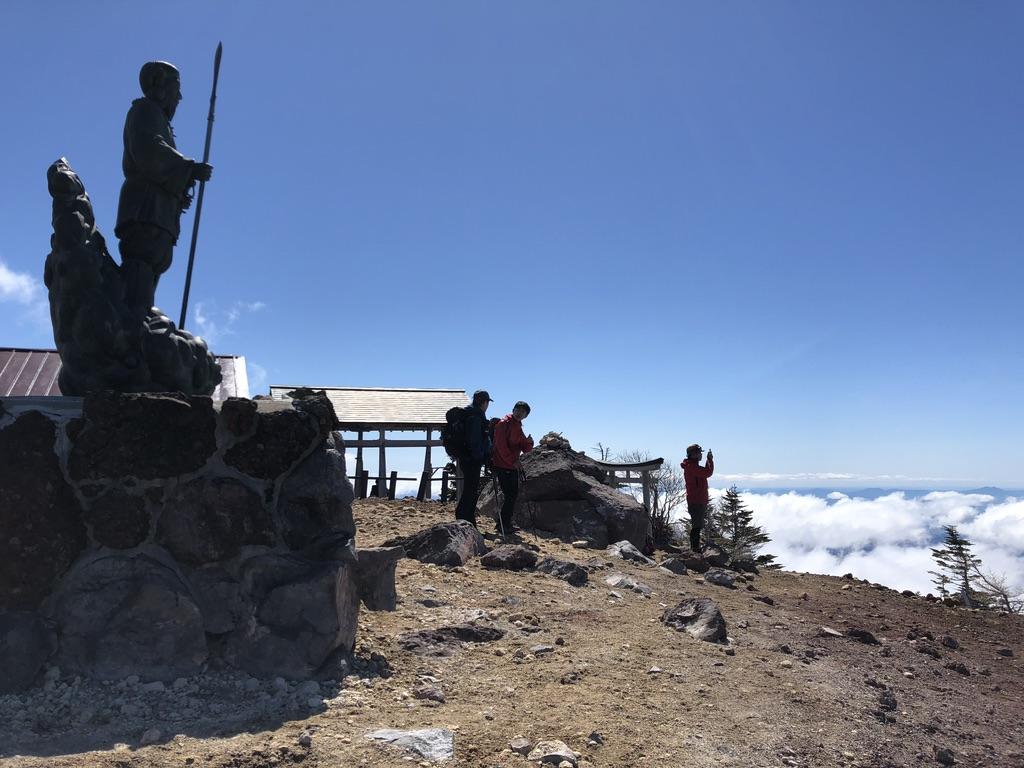 日光男体山・山頂東側を見に行きましょう