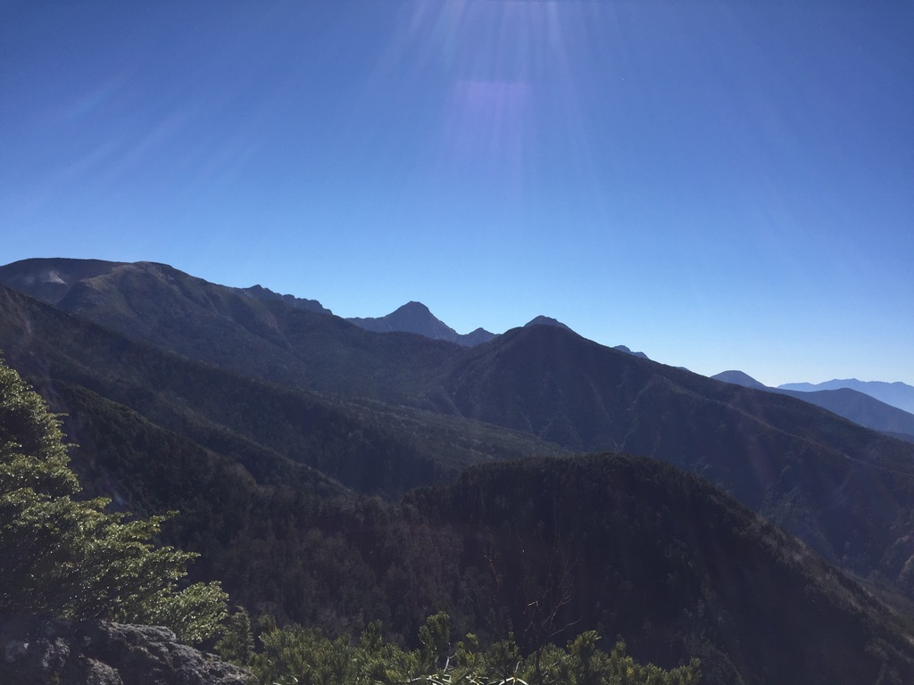 天狗岳(東天狗、西天狗)・第一展望台からは南八ヶ岳が一望できた!