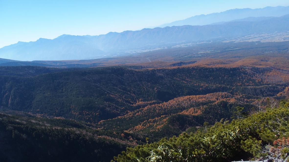 天狗岳(東天狗、西天狗)・第一展望台からの眺望