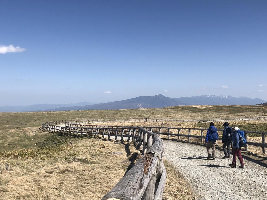 美ヶ原・北八ヶ岳を見ながら歩きましょう