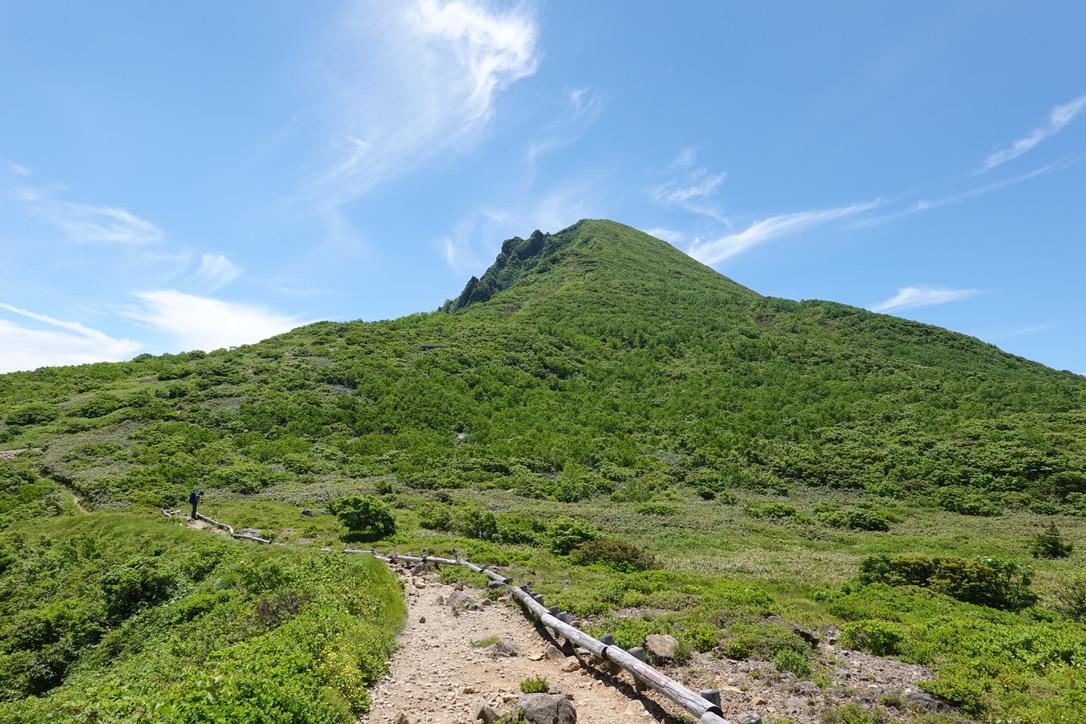 磐梯山・お花畑からの磐梯山