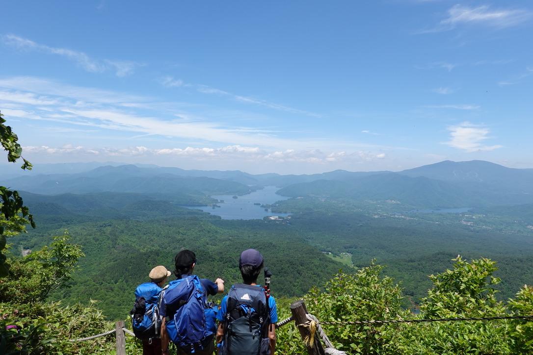 磐梯山・桧原湖と秋元湖と西吾妻山