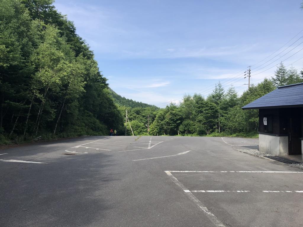 蝶ヶ岳・常念岳・三股駐車場